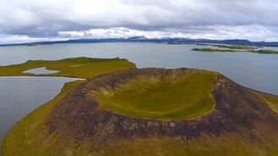 Смотреть Исландия с высоты птичьего полёта