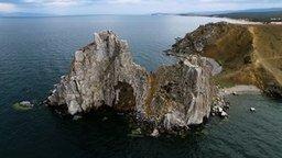 Смотреть Байкал с высоты птичьего полёта