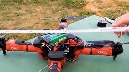 Смотреть Квадрокоптер из болгарок