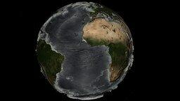Смотреть Рельеф океанского дна без воды