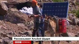 Смотреть Осёл на солнечных батареях