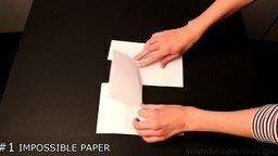 Трюки с бумагой для детей смотреть видео - 5:56