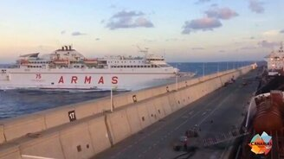 Смотреть Эпичная авария с судном