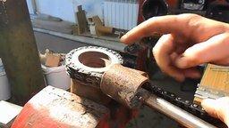 Что можно сделать из цепи двигателя смотреть видео - 6:01
