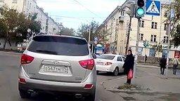 Дураки на дорогах смотреть видео прикол - 6:28
