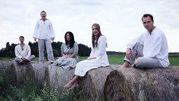 Эстонцы поют фольклор