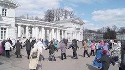 Смотреть Танец маленьких утят от пенсионеров