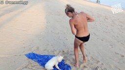 Приколы с пляжного отдыха смотреть видео прикол - 5:06
