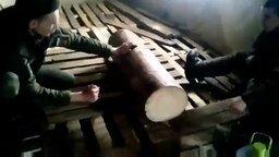 """Играем с пилой """"Дружба-2"""" смотреть видео - 0:25"""