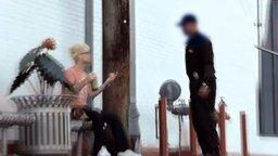 Смотреть Фокусник против полицейского