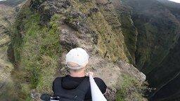 Смотреть Прогулка по вершине горы
