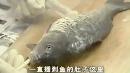 Смотреть Как потрошить рыбу, не вспарывая брюхо