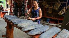 Смотреть Вьетнамский ксилофон