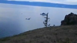 Крушение самолёта на Байкале смотреть видео прикол - 0:10