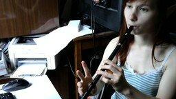 "Смотреть ""Мурка"" на флейте"