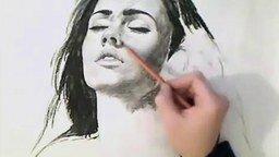 Смотреть Портрет в карандаше