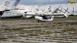 Смотреть Самолёт-амфибия из России