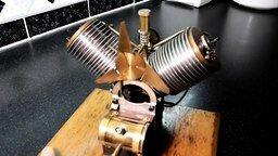 Смотреть Двигатель наружного сгорания