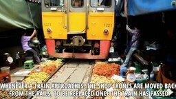 Смотреть Самые необычные поезда и железные дороги