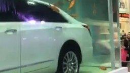 Смотреть Машина в аквариуме