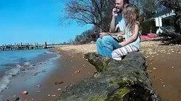 Маленькая трусливая рыбачка смотреть видео прикол - 1:01