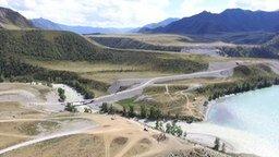 Смотреть Слияние рек Чуя и Катунь