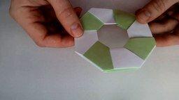 Смотреть Делаем звезду-трансформер из бумаги