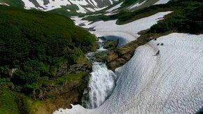 Смотреть Красота Камчатки в водопадах