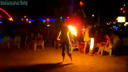 Смотреть Танцы с огнём