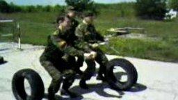Мотоциклисты смотреть видео прикол - 1:07