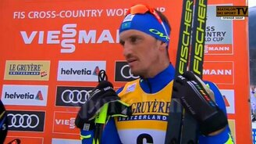 Яркое интервью лыжника смотреть видео прикол - 0:56