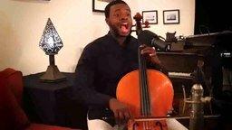 Битбокс виолончелиста смотреть видео прикол - 1:46