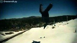 Смотреть Трюк со сноубордами