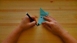 Как сделать мышку из бумаги смотреть видео прикол - 1:08