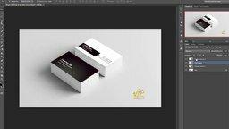 """Как сделать визитку в """"Фотошоп"""" смотреть видео прикол - 17:23"""
