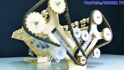 Самодельный деревянный мотор смотреть видео прикол - 4:21