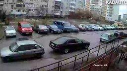 Восстание машины во дворе смотреть видео прикол - 2:45