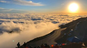 Волна из облака в горах смотреть видео - 0:10