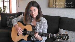 """Девушка играет на гитаре """"Show Must Go On"""" смотреть видео прикол - 4:12"""