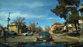 Пешеход-невезунчик смотреть видео прикол - 0:22