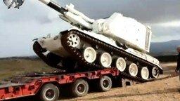 Погрузка танка смотреть видео прикол - 0:24
