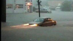 Наводнение в городе смотреть видео прикол - 1:13