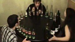 Бутылочные музыканты смотреть видео - 0:47