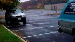 Чёткая парковка смотреть видео прикол - 0:08