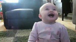 Веселящийся малыш смотреть видео прикол - 1:48