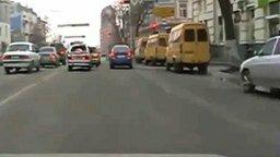 Чудо на дороге смотреть видео прикол - 0:34