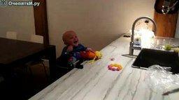 Папа и сын смотреть видео прикол - 1:41